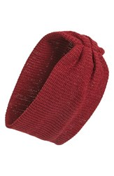 Bp. Head Wrap Burgundy Oxblood