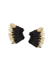 Mignonne Gavigan Wings Earrings Black