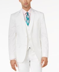 Bar Iii White Slim Fit Jacket Only At Macy's