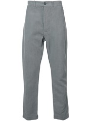Casey Casey Rear Patch Pocket Trousers Grey