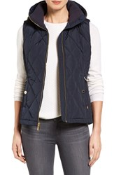Michael Michael Kors Women's Sporting Hooded Vest Navy