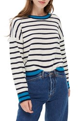 Topshop Stripe Sweater