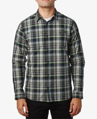 Fox Men's Plaid Shirt Black