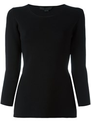 Alexander Wang Keyhole Slit Top Black