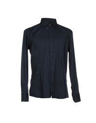 Eredi Del Duca Shirts Dark Blue