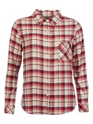 Barbour Tidewater Check Shirt Lighthouse Red Check