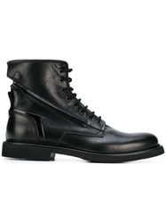 Bruno Bordese Ankle Lace Up Boots Black