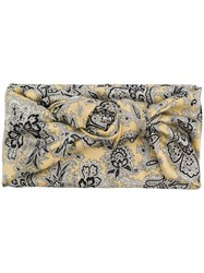Etro Paisley Two Way Scarf Yellow