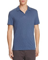 Theory Willem Nebulous Slim Fit Polo Shirt County Line