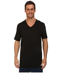 Lacoste Pique Lounge Short Sleeve Pique Black Men's Short Sleeve Pullover