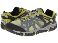 Merrell All Out Blaze Aero Sport Castle Rock Green Oasis Men's Shoes Black