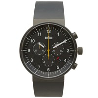 Braun Bn0095 Chronograph Watch Black