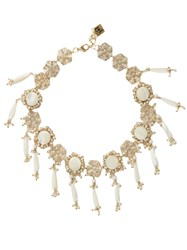 Rosantica By Michela Panero Corte Pearl Embellished Necklace
