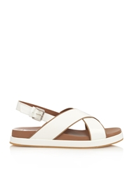 Max Mara Nocera Leather Sandals