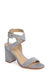 Chinese Laundry Women's Sitara Ankle Strap Sandal Chambray Suede