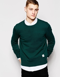 Bellfield Crew Neck Sweater Green