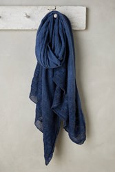 Anthropologie Intuition Scarf Blue