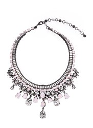 Erickson Beamon 'Lady Of The Lake' Swarovski Crystal Bib Necklace Multi Colour