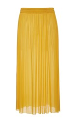 Emilio Pucci High Waist Midi Skirt Yellow