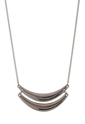 Kiomi Necklace Gun Gunmetal