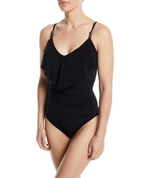 Magicsuit Isabel Ruched One Piece Swimsuit Black