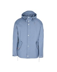 Makia Jackets Pastel Blue