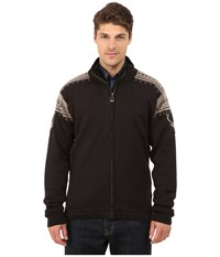 Dale Of Norway Hjort Jacket Firewood Smoke Mountainstone Men's Sweater Black