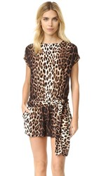 Boutique Moschino Leopard Romper Multi