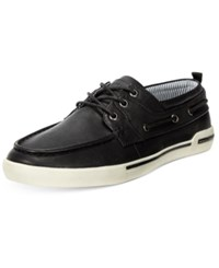 Unlisted Men's Anchor Shot Boat Shoes Men's Shoes Black