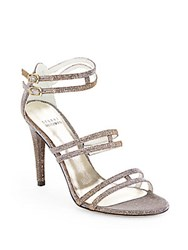 Stuart Weitzman Traffic Glitter Evening Sandals