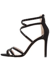 Faith Leigh High Heeled Sandals Black