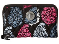 Vera Bradley Turn Lock Wallet Northern Lights Clutch Handbags White