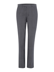 Kenneth Cole Wool Mohair Suit Trouser Grey