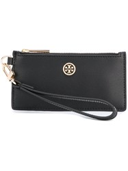 Tory Burch Zip Up Wallet Black