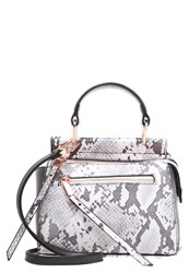 Dune London Dinidamille Handbag Grey Snake