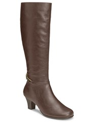 Aerosoles Margarita Knee High Boots Brown