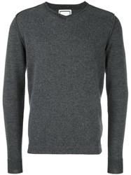 Wooyoungmi V Neck Jumper Grey