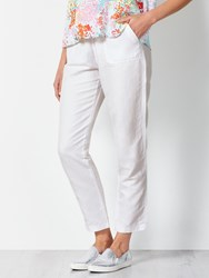John Lewis Collection Weekend By Drawstring Waist Chino White