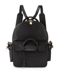 Buscemi Phd Large Leather Backpack Black