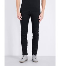 Maison Martin Margiela Slim Fit Stretch Denim Jeans Black