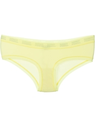 Diesel 'Ufpn Celebrity' Brief Yellow And Orange