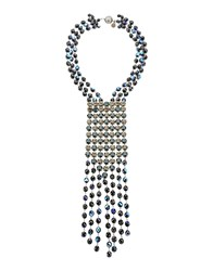 Giorgio Armani Jewellery Necklaces Women Dark Blue