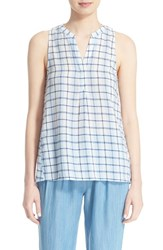 Women's Soft Joie 'Carley' Check Print Sleeveless Top
