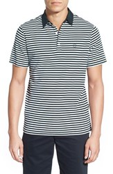 Ag Jeans Men's Ag 'Pico' Stripe Pima Cotton Polo