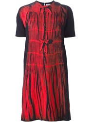 Victoria Victoria Beckham Digital Print Shift Dress