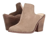 Chinese Laundry Springfield Mule Mink Suede High Heels Tan