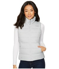 The North Face Nuptse Vest Tnf Light Grey Heather Jacket Gray
