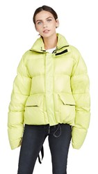 Unravel Project Openside Down Jacket Lime