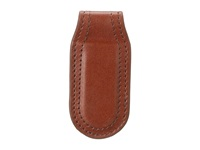 Bosca Faustino Magnetic Money Clip Brown Wallet Handbags