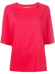 Toogood Boxy T Shirt Red